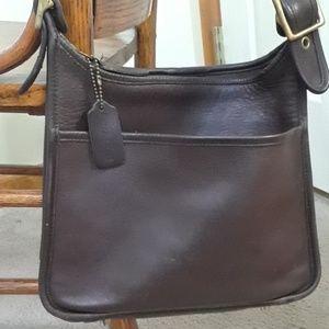 Vintage Coach Legacy #9966 leather shoulder bag
